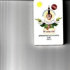 Barajas de cartas: BARALLA DE POKER DE COCA SPRINGSTIME IN ATLANTA 1997. Lote 143070926