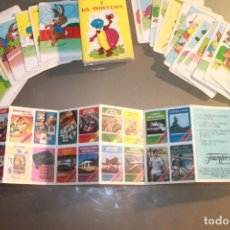 Barajas de cartas: BARAJA: LA LIEBRE Y LA TORTUGA. Lote 143231490