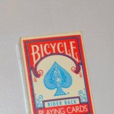 Barajas de cartas: BICYCLE - PEQUEÑA BARAJA. Lote 143298266