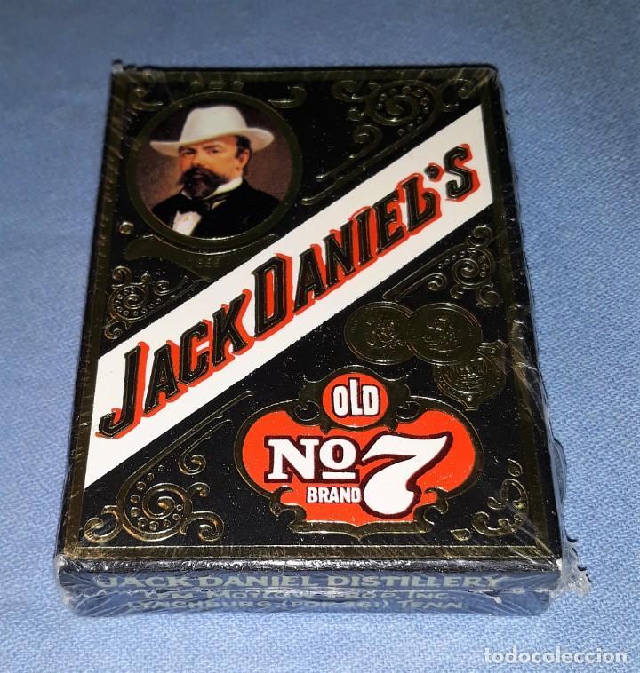 ANTIGUA BARAJA DE CARTAS DE JACK DANIEL'S A ESTRENAR PRECINTADAS VER DESCRIPCION (Juguetes y Juegos - Cartas y Naipes - Barajas de Póker)