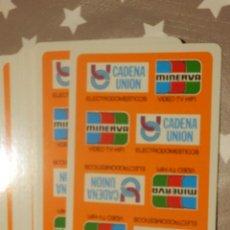 Barajas de cartas: BARAJA ESPAÑOLA DE CARTAS - JUEGO 40 NAIPES - NAIPES COMAS - CADENA UNIÓN MINERVA. Lote 143563818