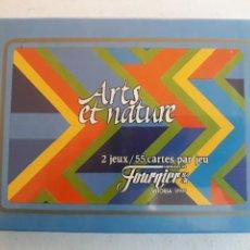 Barajas de cartas: PAREJA DE BARAJAS FOURNIER ARTS Y NATURE. Lote 143727892