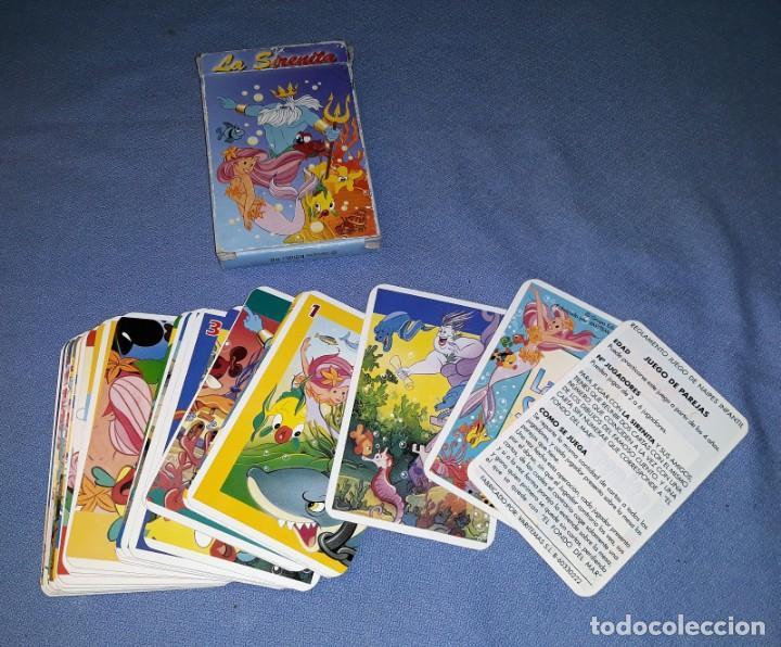 CARTAS DE LA SIRENITA COMPLETO ORIGINAL VER FOTOS Y DESCRIPCION (Juguetes y Juegos - Cartas y Naipes - Barajas Infantiles)