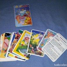 Barajas de cartas: CARTAS DE LA SIRENITA COMPLETO ORIGINAL VER FOTOS Y DESCRIPCION. Lote 143739894