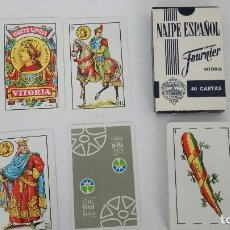 Barajas de cartas: 1 BARAJA ESPAÑOLA DE CAJA VITAL KUTXA. Lote 143762314