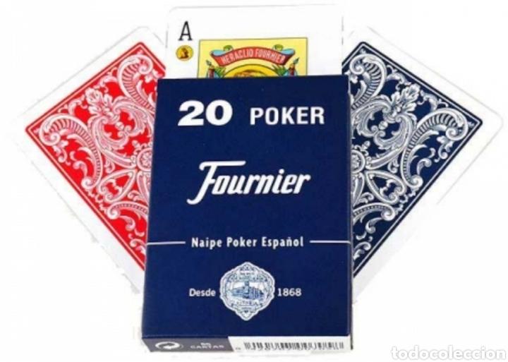 BARAJA POKER ESPAÑOL N°20 FOURNIER (Juguetes y Juegos - Cartas y Naipes - Barajas de Póker)