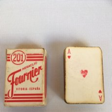 Barajas de cartas: MINI BARAJA DE CARTAS ESPAÑOLA. Lote 144148650