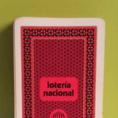 Barajas de cartas - naipes cartas loteria nacional // baraja poker color burdeos - 144220826