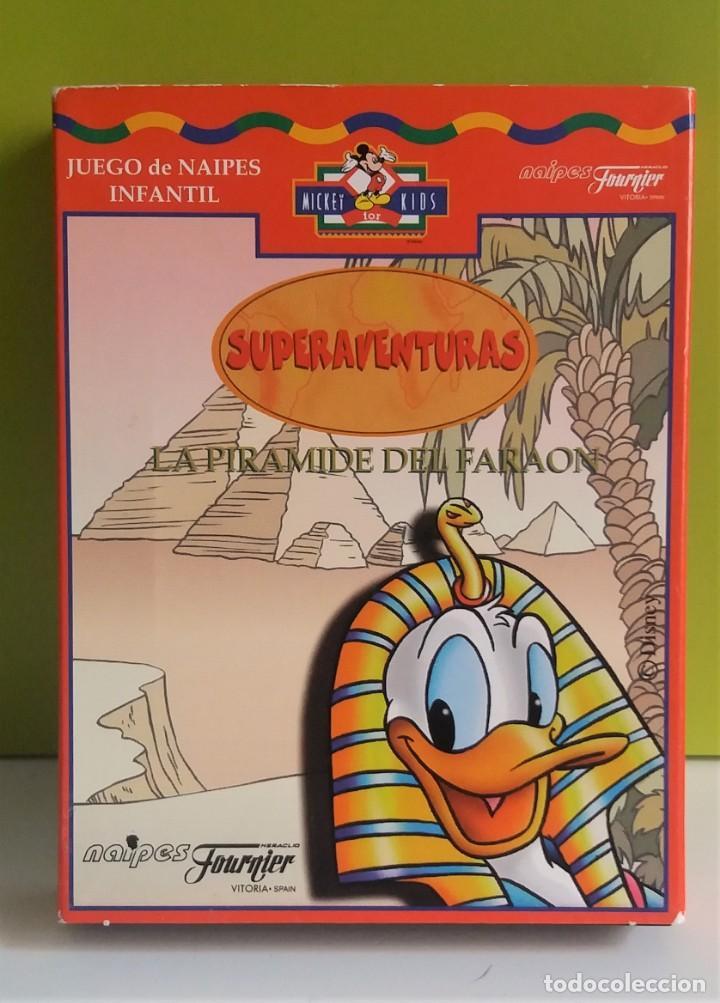 BARAJA // NAIPES LA PIRAMIDE DEL FARAÓN - HERACLIO FOURNIER (Juguetes y Juegos - Cartas y Naipes - Otras Barajas)