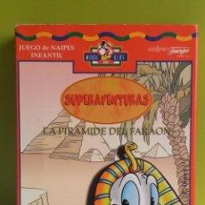 Barajas de cartas: BARAJA // NAIPES LA PIRAMIDE DEL FARAÓN - HERACLIO FOURNIER. Lote 144221526