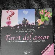 Barajas de cartas: TAROT DEL AMOR ( CONOCE TU FUTURO AMOROSO Y ELIGE A TU PAREJA IDEAL ). Lote 153981736