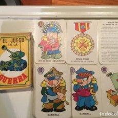 Baralhos de cartas: EL JUEGO DE LA GUERRA. Lote 144265338