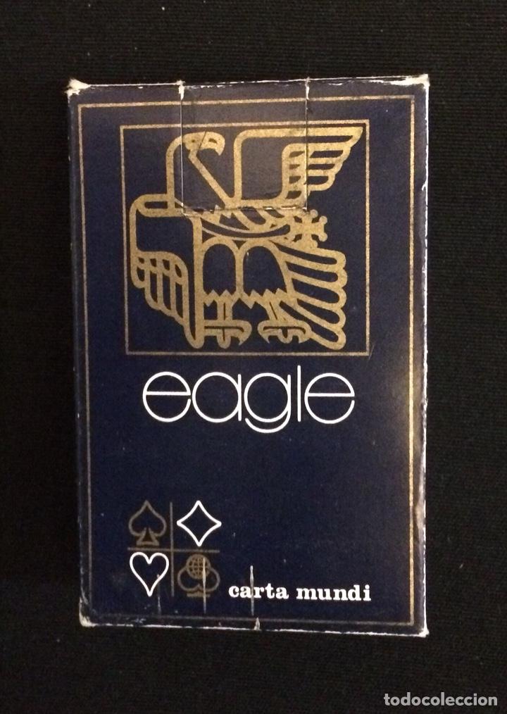 BARAJA FRANCESA CARTAMUNDI PUBLICIDAD EAGLE (Juguetes y Juegos - Cartas y Naipes - Barajas de Póker)