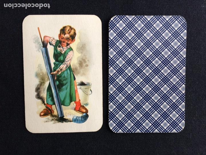 BARAJA INFANTIL DE PAREJAS - SCHWARZER PETER - KINDERBILDER - PIATNIK - AÑOS 40 (Juguetes y Juegos - Cartas y Naipes - Otras Barajas)