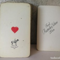 Barajas de cartas: ANTIGUA BARAJA TAROT FERD. PIATNIK AND SOHNE. Lote 144614650