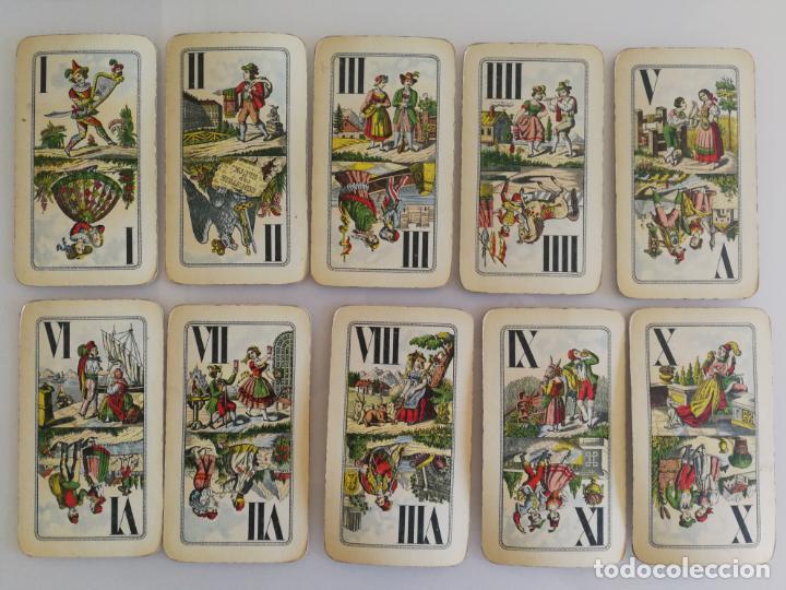 Barajas de cartas: ANTIGUA BARAJA TAROT FERD. PIATNIK AND SOHNE - Foto 9 - 144614650