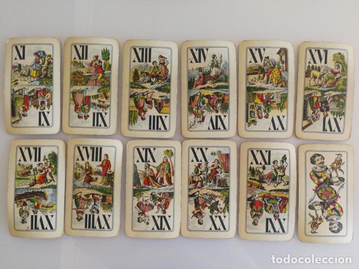 Barajas de cartas: ANTIGUA BARAJA TAROT FERD. PIATNIK AND SOHNE - Foto 10 - 144614650
