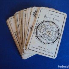 Barajas de cartas: (PA-181290)BARAJA XILOGRAFIAS MUSEO GUASP - PALMA DE MALLORCA. Lote 144725554