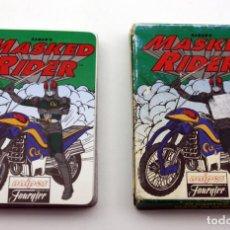 Barajas de cartas: BARAJA INFANTIL MASKED RIDER - FOURNIER - 1996. Lote 144736614