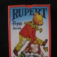 Barajas de cartas: RUPERT BEAR & FRIENDS PLAYING CARDS--- PEPYS GAMES- --JUEGO DE CARTAS AÑO 1981--NUEVO UK. Lote 145142186