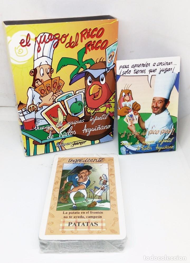 EL JUEGO DEL RICO RICO *** JUEGO DE NAIPES INFANTIL DE KARLOS ARGUIÑANO *** FOURNIER (Juguetes y Juegos - Cartas y Naipes - Otras Barajas)