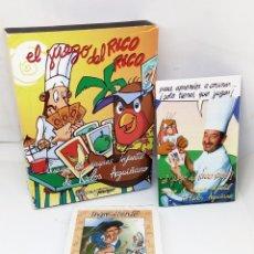 Barajas de cartas: EL JUEGO DEL RICO RICO *** JUEGO DE NAIPES INFANTIL DE KARLOS ARGUIÑANO *** FOURNIER. Lote 103867559