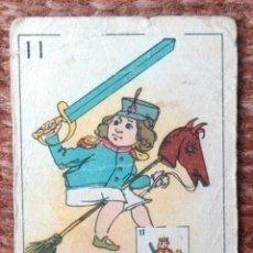 Barajas de cartas: BARAJA FANTASIA - FUTBOL - CHOCOLATES FELIX LOPEZ - VILLAJOYOSA. Lote 145411918