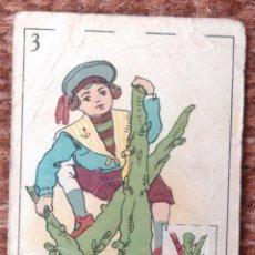Barajas de cartas: BARAJA FANTASIA - FUTBOL - CHOCOLATES FELIX LOPEZ - VILLAJOYOSA. Lote 145412206