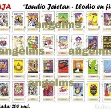 Barajas de cartas: BARAJA NAIPES: LLODIO - LAUDIO EN FIESTAS. ALAVA. EDICIÓN LIMITADA 200 UNID. 2018. NUEVA. Lote 156899437