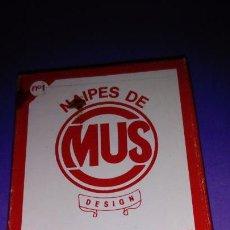 Barajas de cartas: ANTIGUA BARAJA DE CARTAS - 40 CARTAS - NAIPES DE MUS, LESTER - . Lote 145852430
