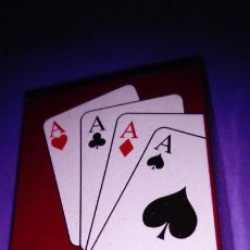 Barajas de cartas: BARAJA CARTAS POQUER, NAIPES, MINI BARAJA POKER, MINI CARDS. Lote 145852566