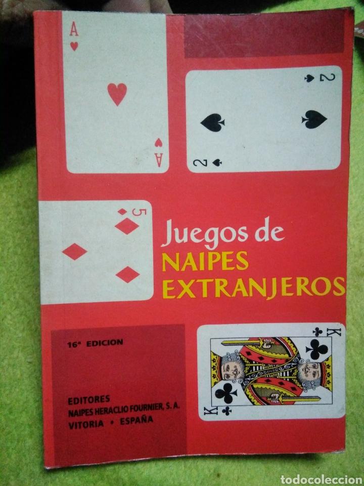 LIBRO DE CARTAS JUEGOS DE NAIPES EXTRANJEROS ED. HERACLIO FOURNIER . VITORIA 1995 (Juguetes y Juegos - Cartas y Naipes - Otras Barajas)