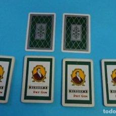 Barajas de cartas: BARAJA ESPAÑOLA PUBLICIDAD BURDON'S DRY GIN. 40 CARTAS. HERACLIO FOURNIER. Lote 145978302