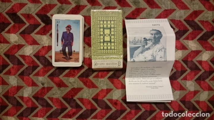 Barajas de cartas: Baraja Florencio Molina Campos. Pintor argentino. tirada limitada cuando se abrió su museo a pp. sig - Foto 3 - 146115038