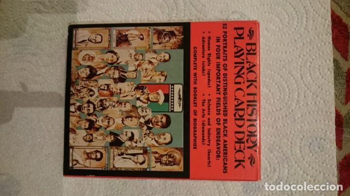 Barajas de cartas: Baraja black history, playing card deck, cartas personajes negros importantes, Rareza! - Foto 2 - 146116486