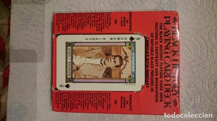 Barajas de cartas: Baraja black history, playing card deck, cartas personajes negros importantes, Rareza! - Foto 3 - 146116486