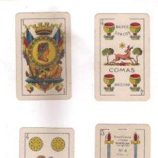 Barajas de cartas: BARAJA ESPAÑOLA REPÚBLICA DE NAIPES COMAS 1931. 48 CARTAS 1 COMODIN .. Lote 146121802