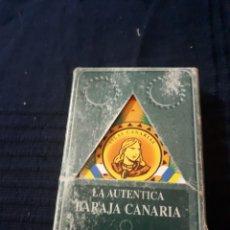 Barajas de cartas: LA AUTENTICA BARAJA CANARIA °1 SERIE HISTORICA LEER DESCRIPCIÓN. Lote 146175720