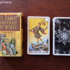 Barajas de cartas: TAROT UNIVERSAL DE WAITE. EDITORIAL SIRIO. 78 CARTAS (VER DESCRIPCIÓN). Lote 146675914