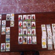 Barajas de cartas: TAROT 75 CARTAS INCOMPLETO. Lote 146687050