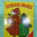 Barajas de cartas: ANTIGUA BARAJA INFANTIL CARTAS SHERLOCK HOLMES-FOURNIER - NUEVA A ESTRENAR-ORIGINAL AÑOS 70-80. Lote 146705318