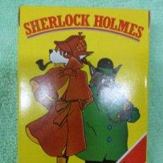 Barajas de cartas: ANTIGUA BARAJA INFANTIL CARTAS SHERLOCK HOLMES-FOURNIER - NUEVA A ESTRENAR - ORIGINAL AÑOS 70-80. Lote 146705318
