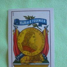 Barajas de cartas: MUY RARA BARAJA NAIPES REPÚBLICA HIJA BRAULIO FOURNIER - 1932. MUY BONITA . NUEVA. Lote 146770290