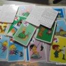 Barajas de cartas: BARAJA JUEGO DEL TELERIN(LA FAMILIA TELERIN)EDICIONES FHER 1965.-COMPLETA 44 CARTAS . Lote 146778642