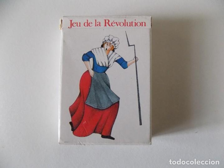 Barajas de cartas: LIBRERIA GHOTICA. BARAJA JEU DE LA REVOLUTION. 1988. REVOLUCIÓN FRANCESA. - Foto 2 - 146785758