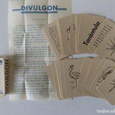Barajas de cartas: LIBRERIA GHOTICA. RARA BARAJA DIVULGON DE 48 CARTAS.1940. CON INSTRUCCIONES. NUEVA.. Lote 146794802
