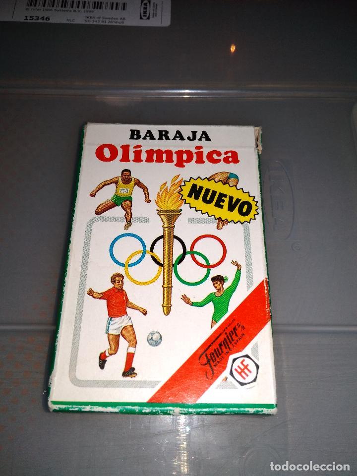 HERACLIO FOURNIER - BARAJA OLÍMPICA AÑOS 80 NUEVA (Juguetes y Juegos - Cartas y Naipes - Barajas Infantiles)