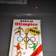 Barajas de cartas: HERACLIO FOURNIER - BARAJA OLÍMPICA AÑOS 80 NUEVA. Lote 146799298