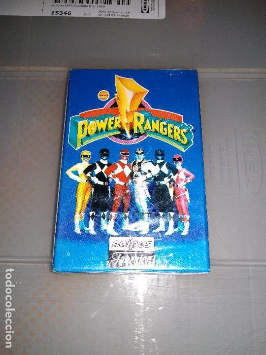 HERACLIO FOURNIER - BARAJA POWER RANGERS 1995 NUEVA Y PRECINTADA (Juguetes y Juegos - Cartas y Naipes - Barajas Infantiles)