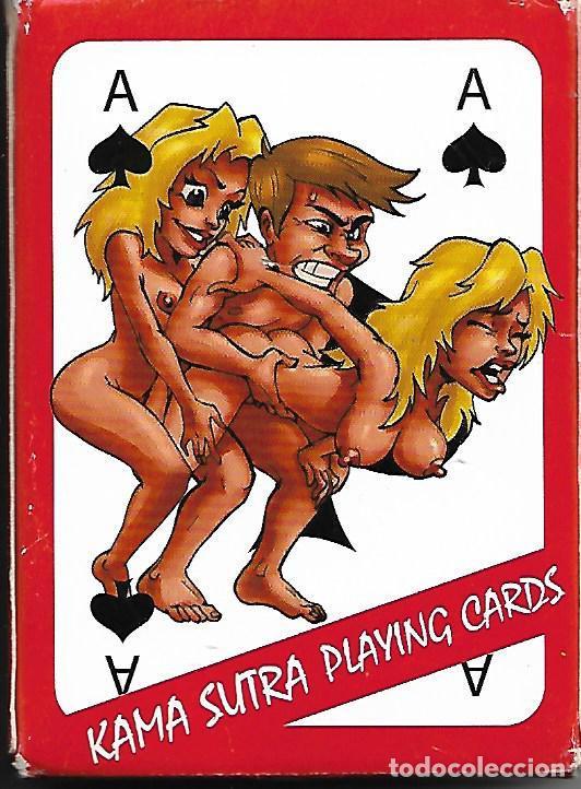 BARAJA CARTAS KAMA SUTRA NAIPES POKER 54 NAIPES PERFECTO ESTADO (Juguetes y Juegos - Cartas y Naipes - Otras Barajas)